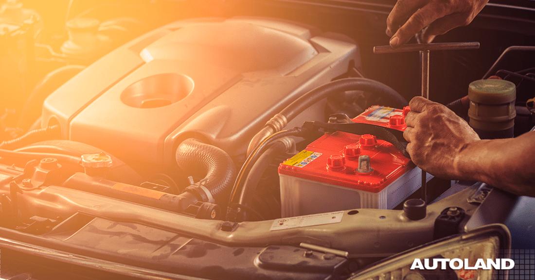 batería de auto