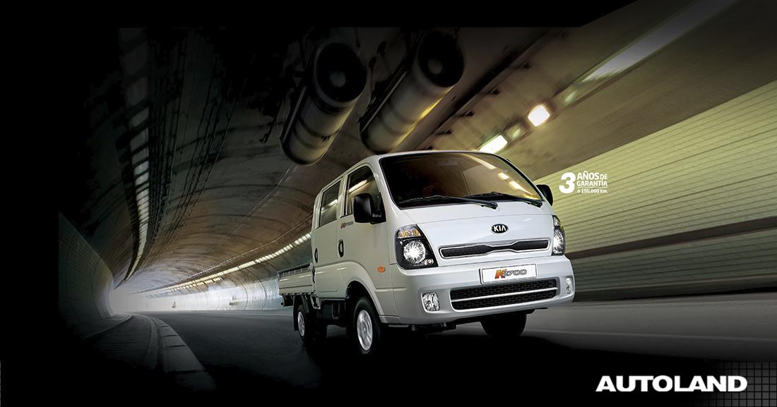 Kia K2700 doble cabina: Ideal para el trabajo