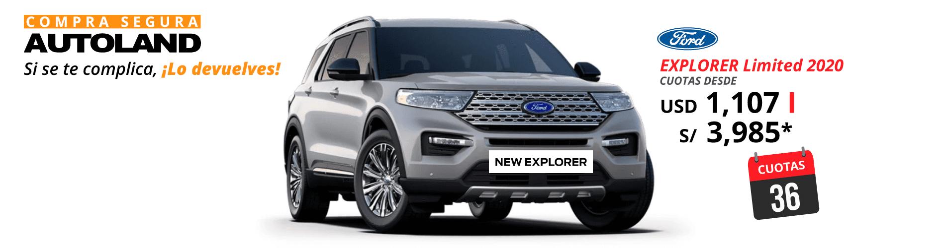 36 cuotas explorer limited