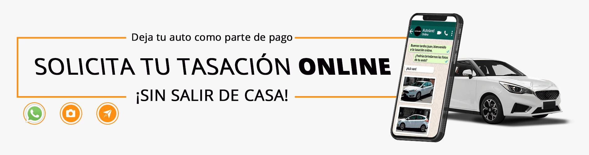 Solicita tu tasación online