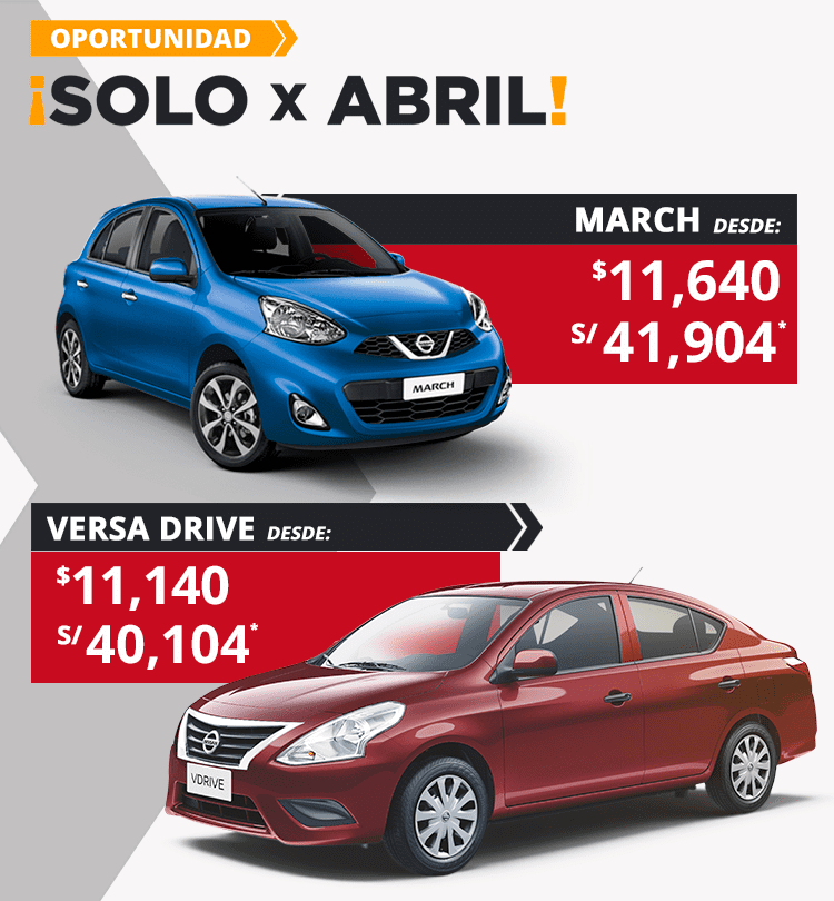 Solo X Abril March y v-drive mob