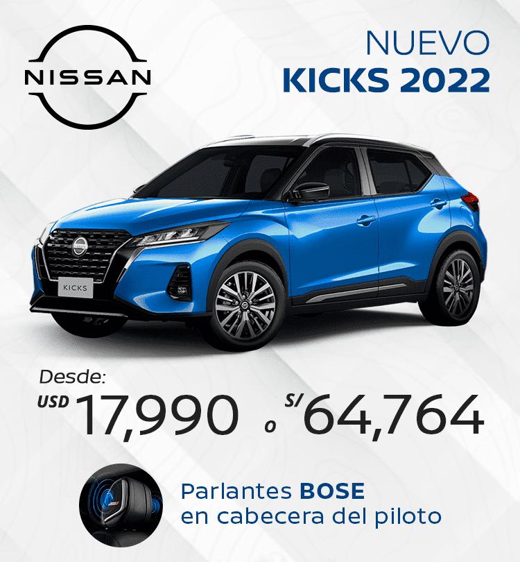 Imagen Promoción nuevo kicks 2022